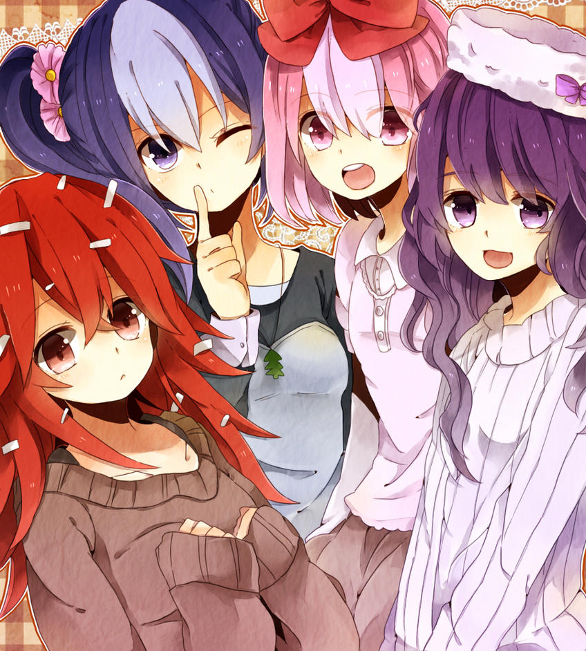 Special A Series anime group friend girls boys beautiful ...  |Anime Group Of Friends Boys And Girls