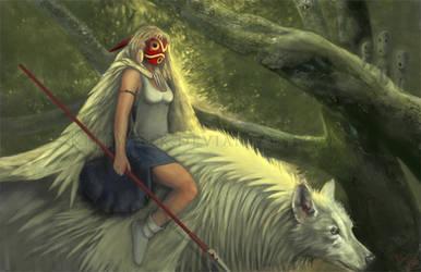 Princess Mononoke by KleeWyck