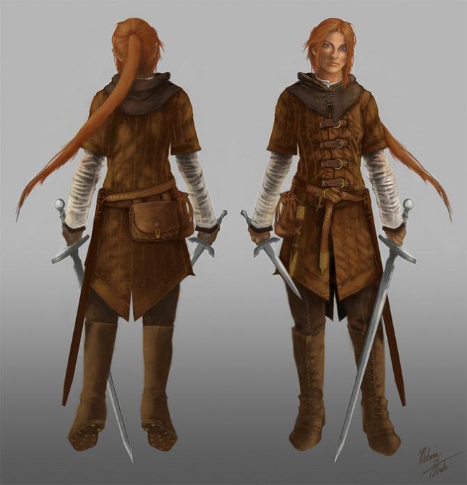 Female Warrior by KleeWyck