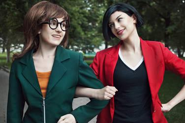 Daria + Jane Lane - Daria cosplay by LuckyStrikeCosplay