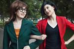 Daria + Jane Lane - Daria cosplay