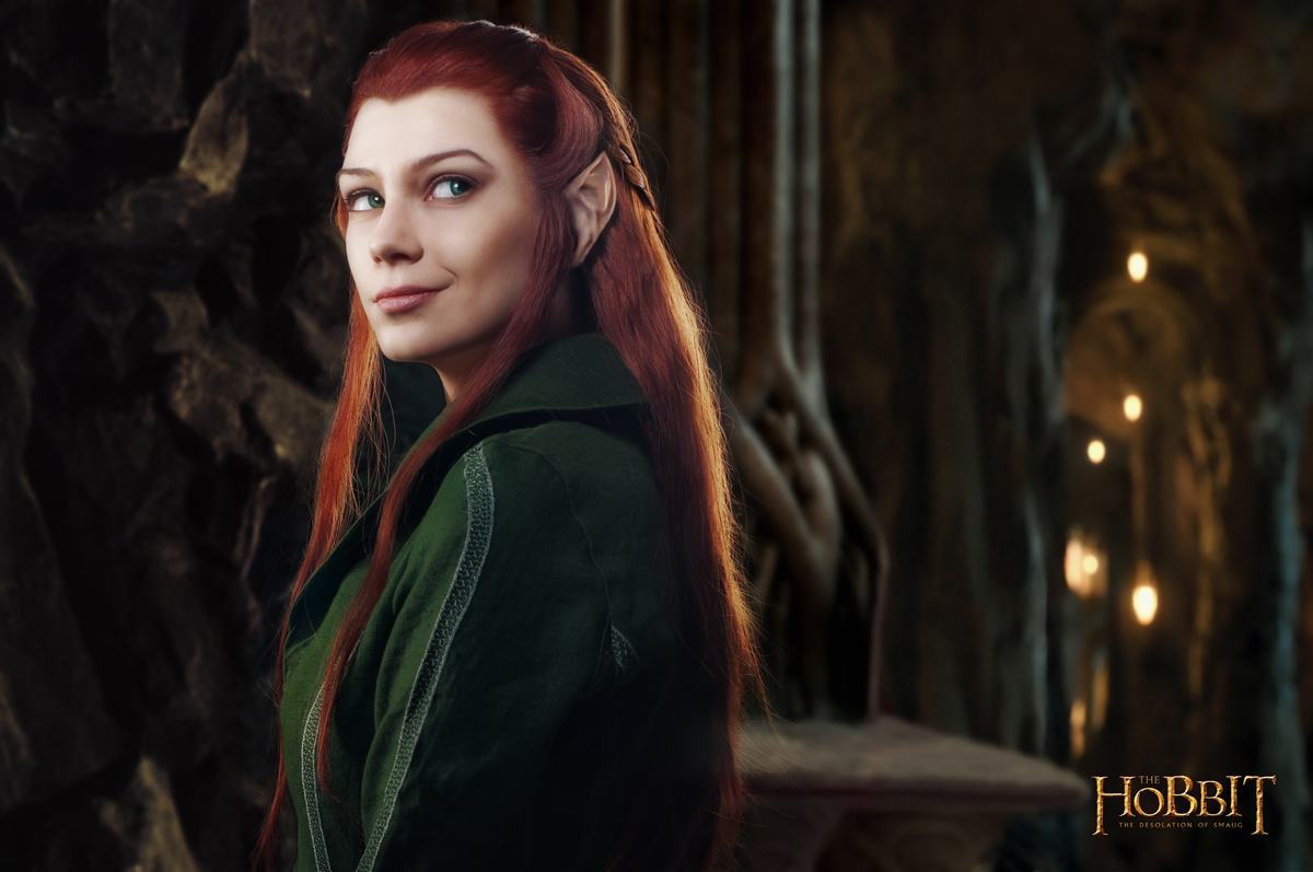 Tauriel 1 - The Hobbit cosplay (test) by LuckyStrike-cosplay