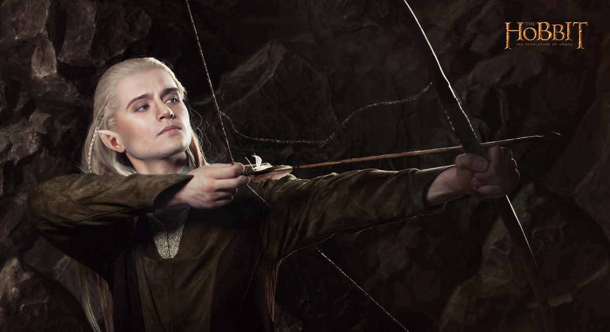 Legolas 1 - The Hobbit cosplay (test) by LuckyStrike-cosplay