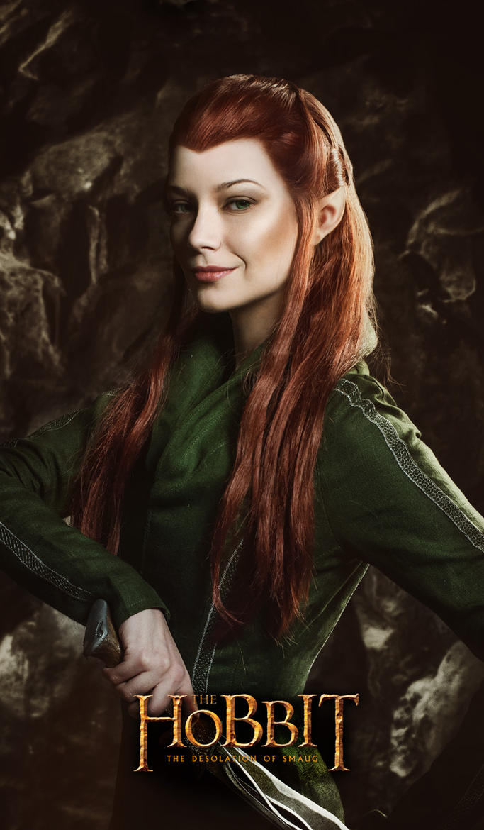 Tauriel 2 - The Hobbit cosplay (test) by LuckyStrike-cosplay