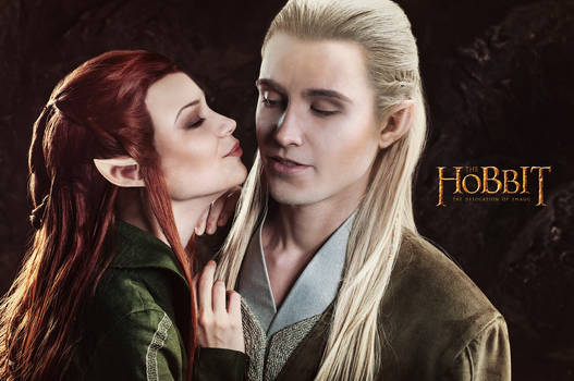 Legolas and  Tauriel 3 - The Hobbit cosplay (test)