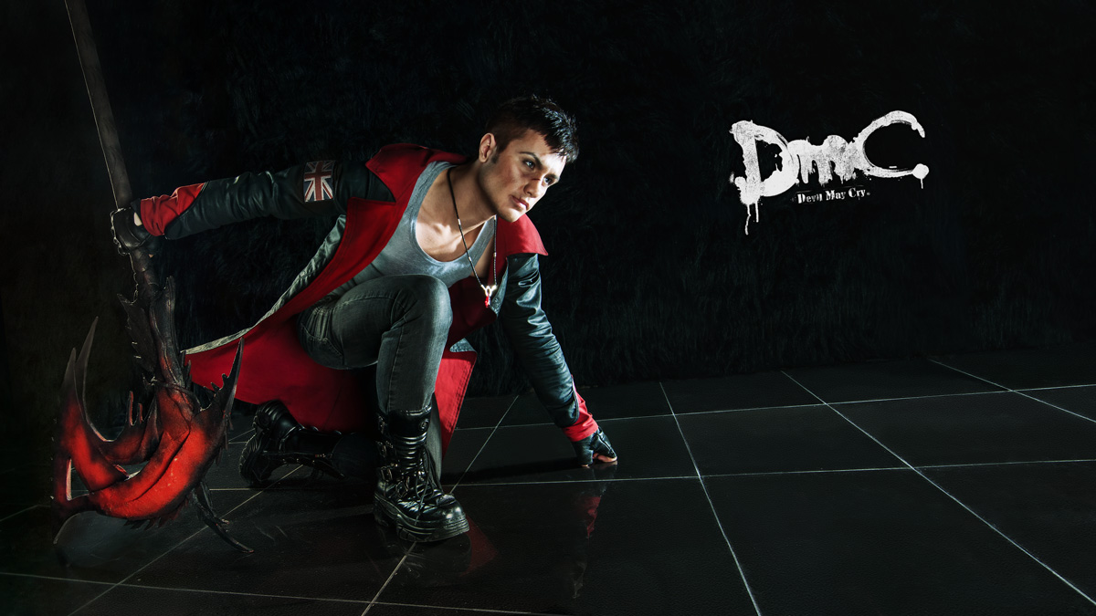 Dante with Arbiter 3 - DmC cosplay by LuckyStrikeCosplay