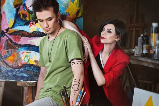 Jane and Trent Lane - Daria cosplay