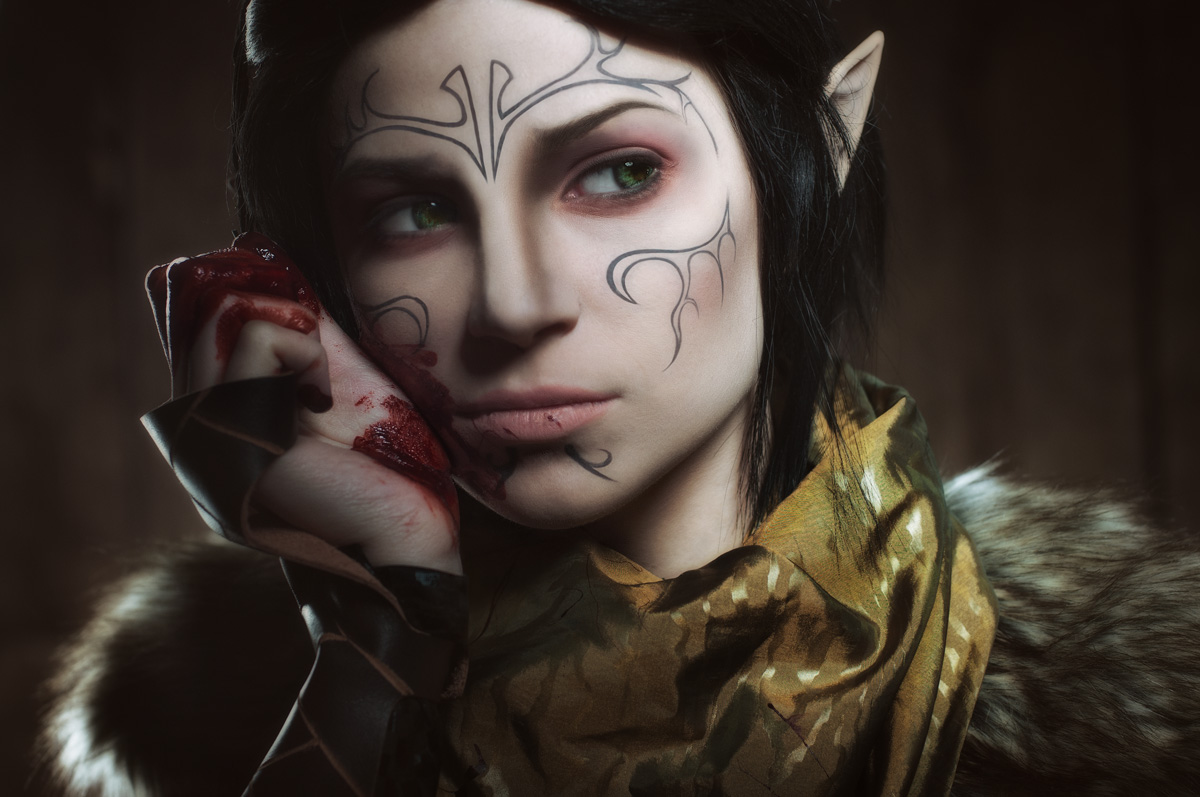 Merrill 3 - Dragon Age II cosplay by LuckyStrikeCosplay on DeviantArt