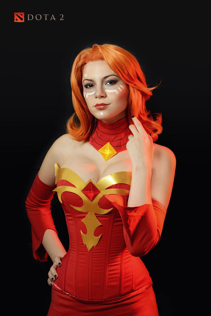 Lina 2 - Dota 2 cosplay by LuckyStrike-cosplay