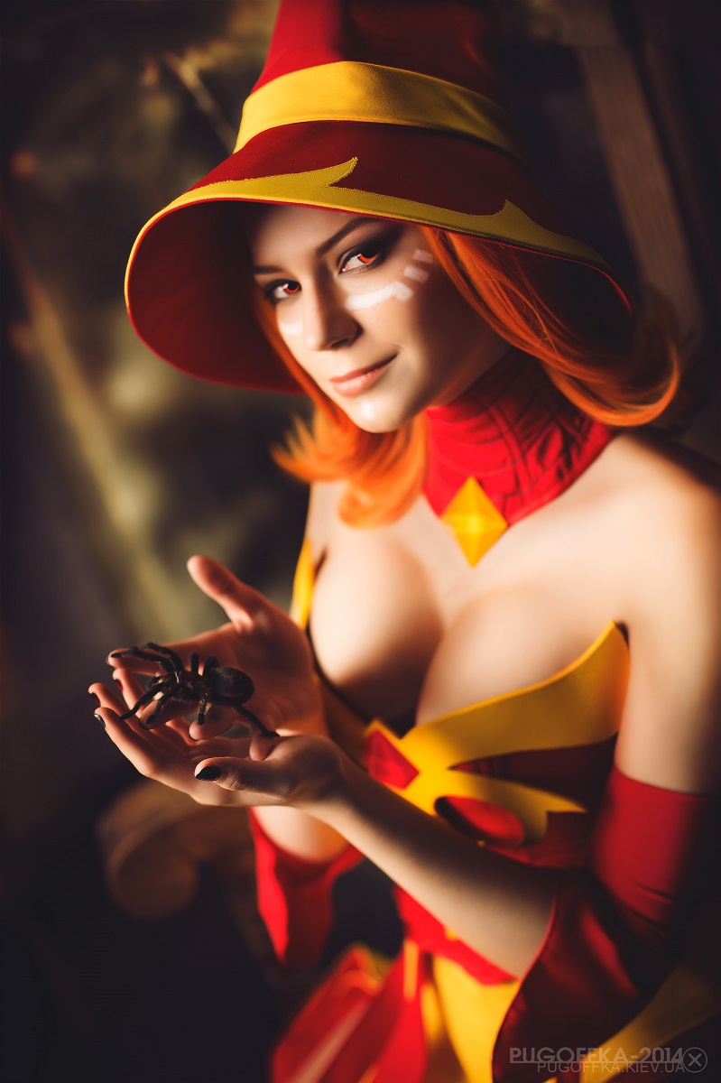 halloween lina dota 2 cosplay by luckystrikecosplay on deviantart