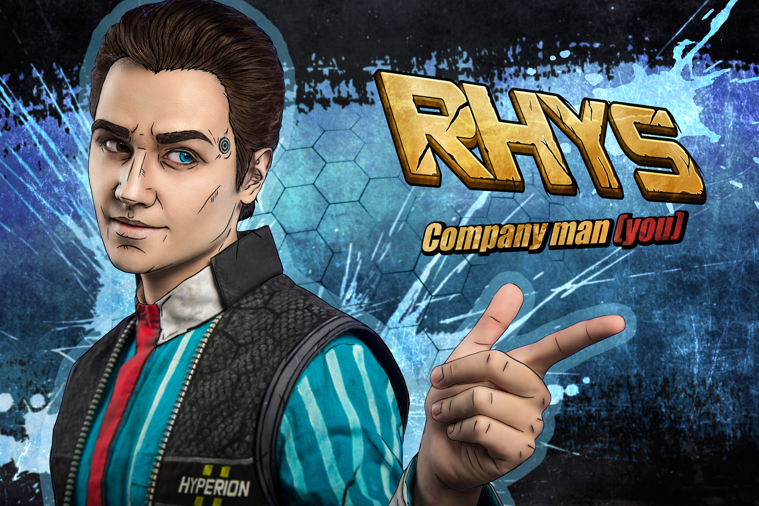 Rhys - Tales from the Borderlands cosplay