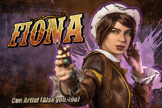 Fiona - Tales from the Borderlands cosplay
