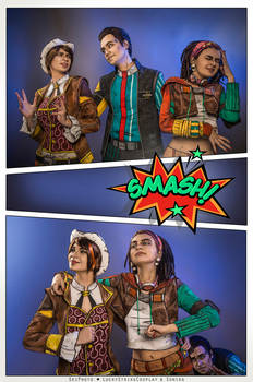 Fiona, Rhys, Sasha - Tales from the Borderlands