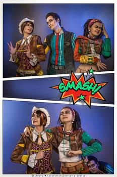 Fiona, Rhys, Sasha - Tales from the Borderlands