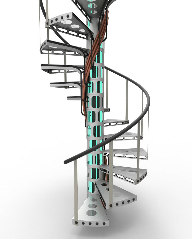 Time and Relative Dimensions in Stairs by Zet-Sway