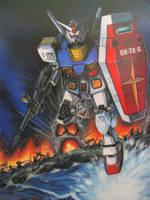 Gundam RX-78-2 by katzai
