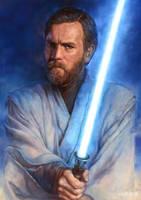 Jedi: Obi-Wan by katzai