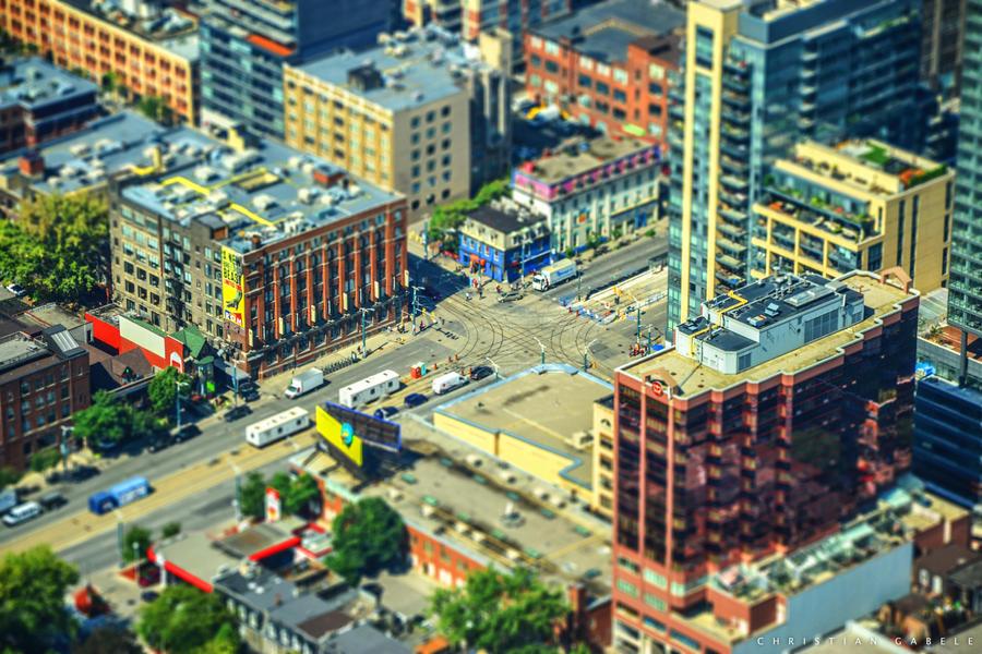 Tilt Shift Toronto by gabolos