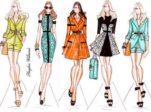 Fashion illustration by lames ahmed on deviantart Fashion style group mauritius