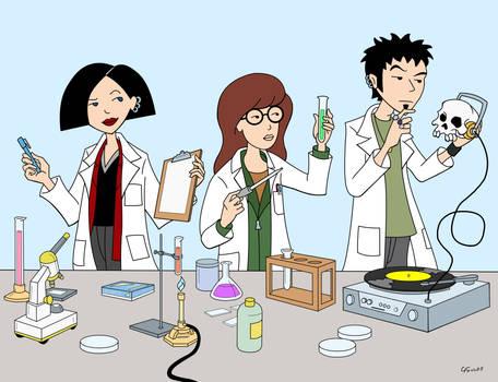 Daria in the Lab
