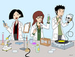 Daria in the Lab