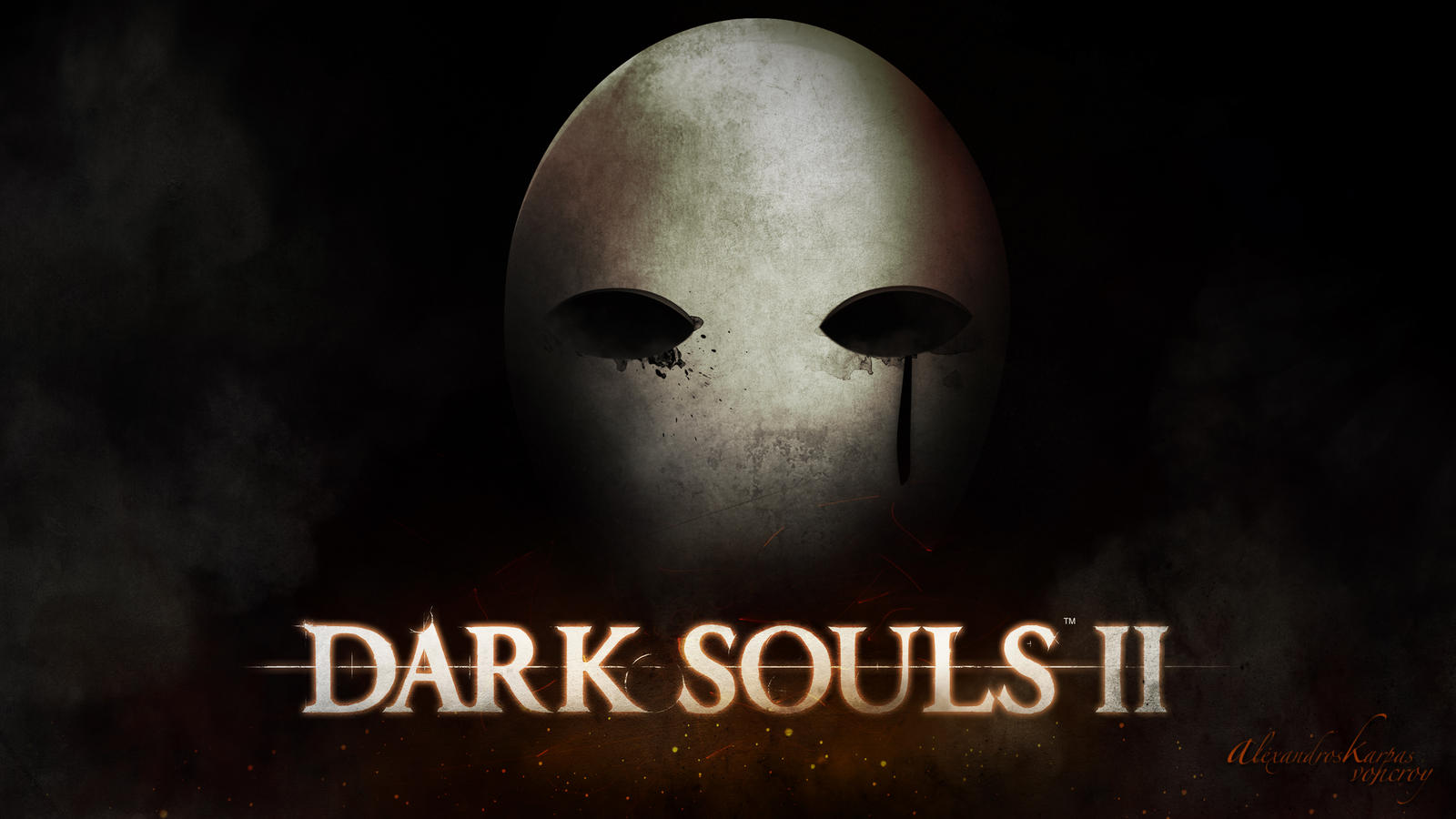 Dark Souls 2 - Mask by Voncroee