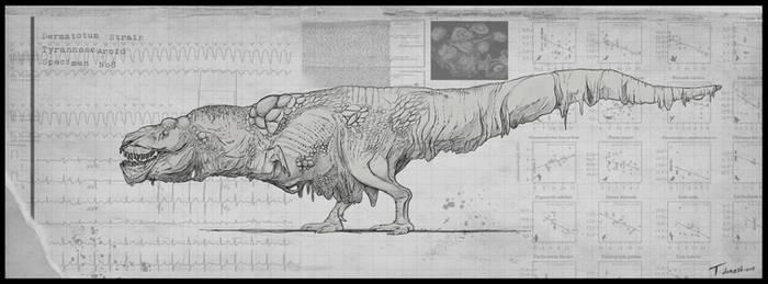 Dermatotum Tyrannosaurus