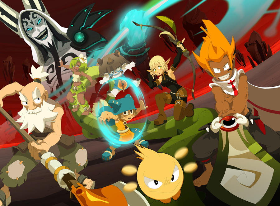 Wakfu team2 by sampaio69