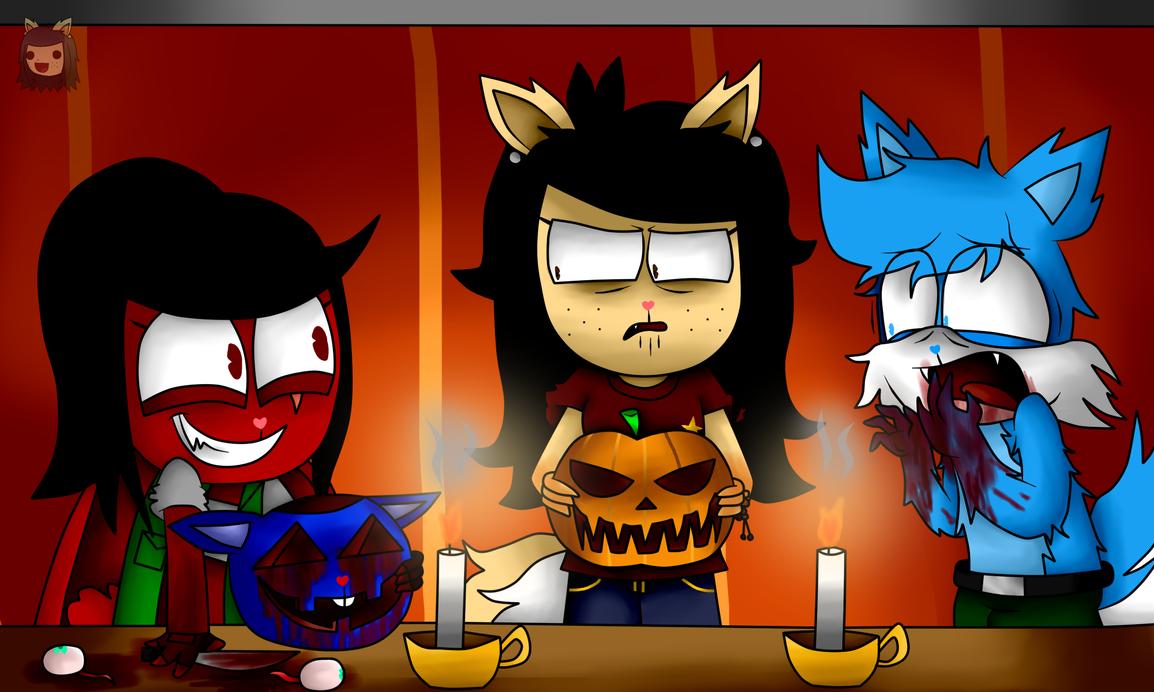 Happy halloween! by DebbyTheEnvy