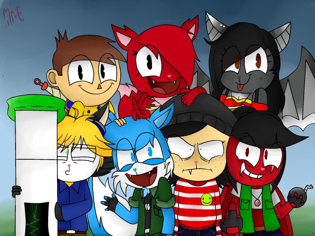GROUP PIC by Mr-Evilness