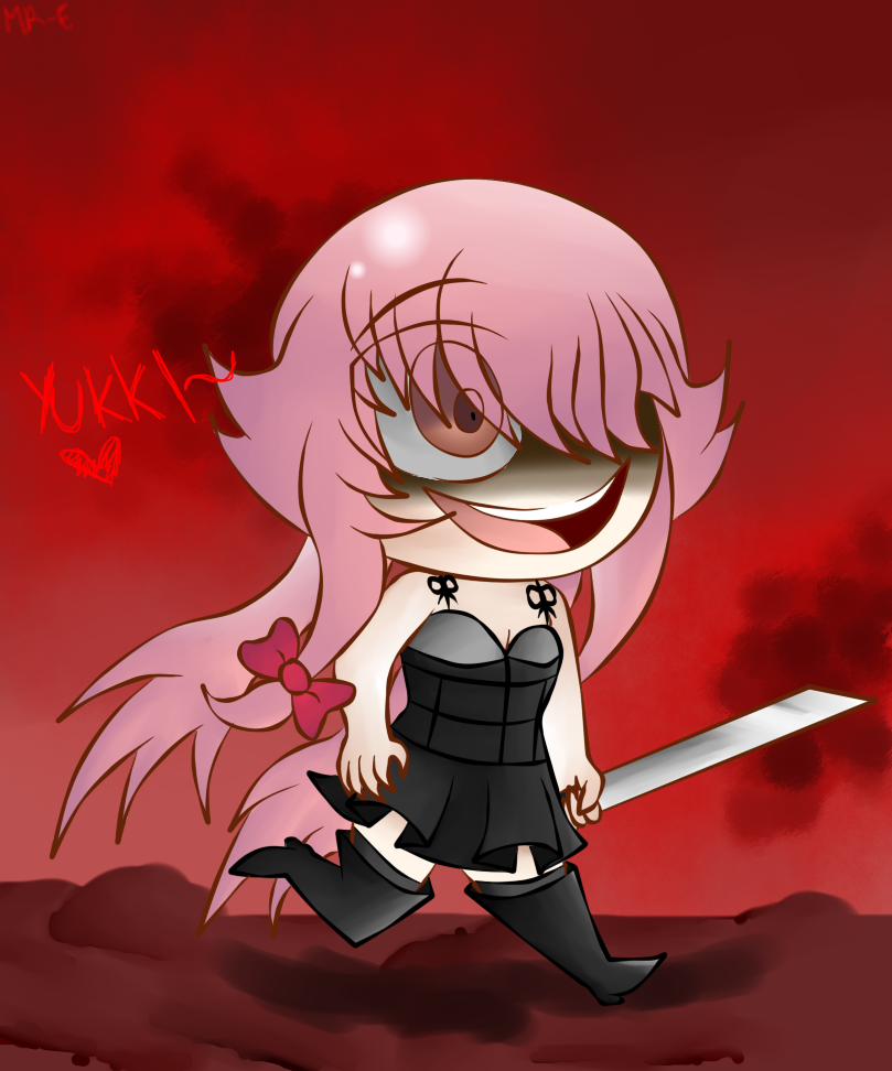 Gasai Yuno by Mr-Evilness