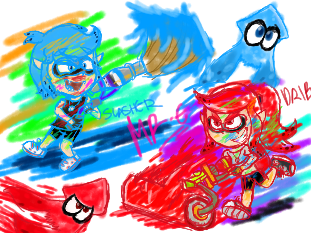 INKLINGS GO by Mr-Evilness