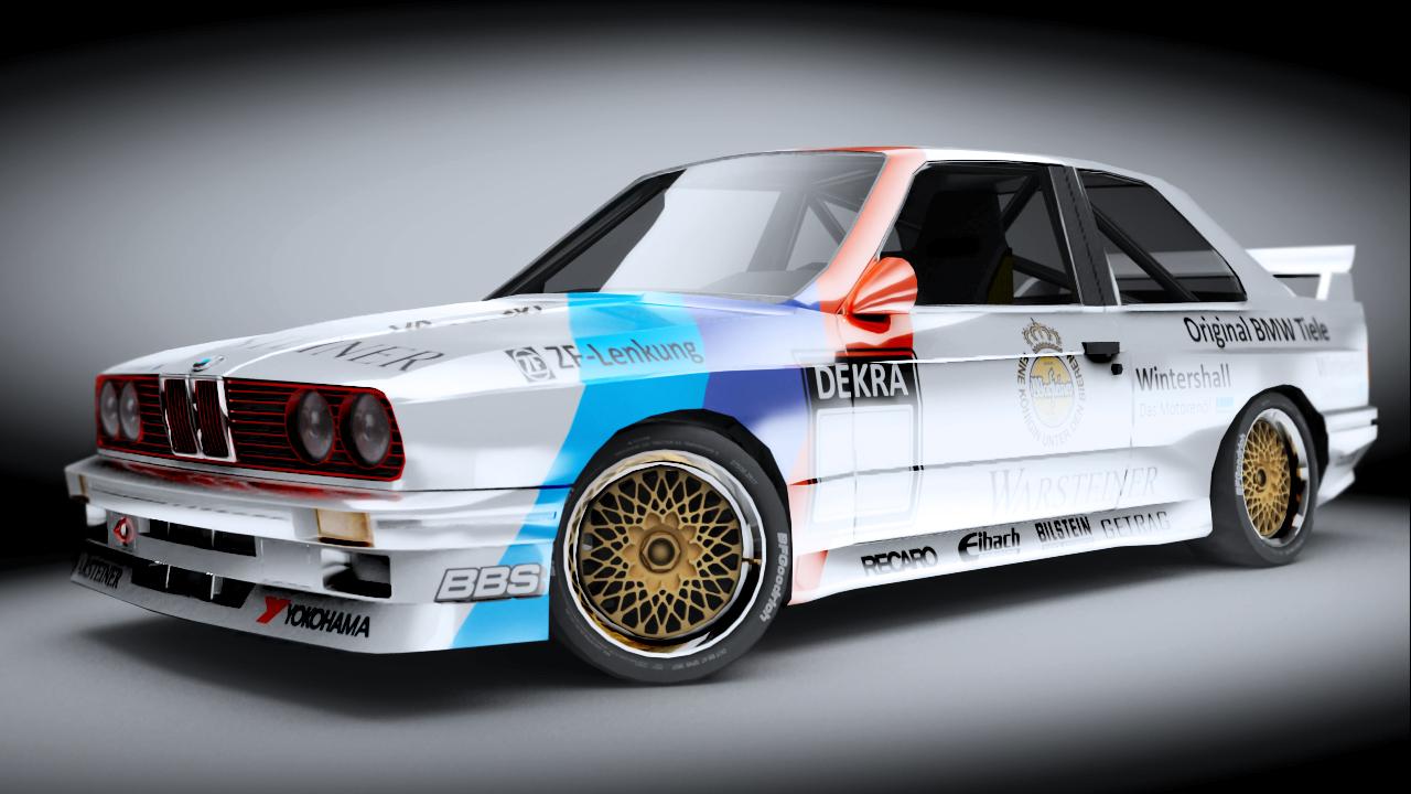 BMW E30 M3 GroupA DTM Render by Krysiaman on DeviantArt