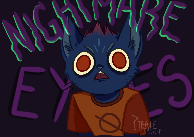 Nightmare eyes by Pirate-Lvl-1