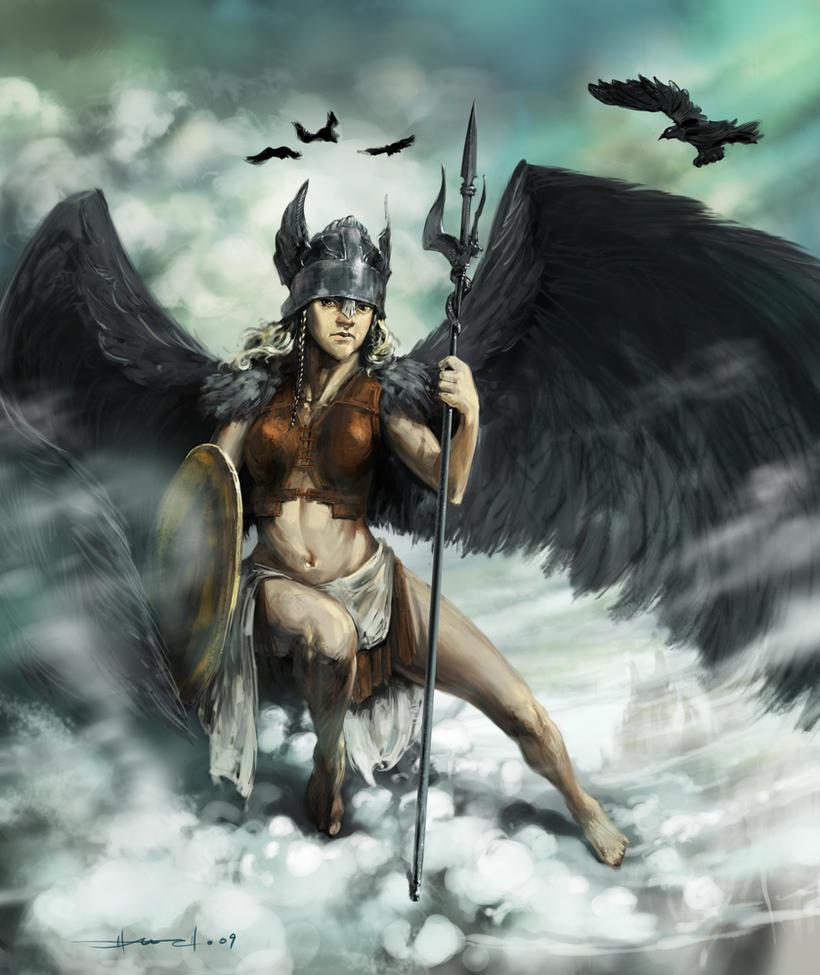 Valkyrie by hmichaelcho | ~Goddesses & Gods~ | Pinterest