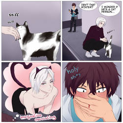 Special Page 1: Winter's a Cat Person by kizami-art