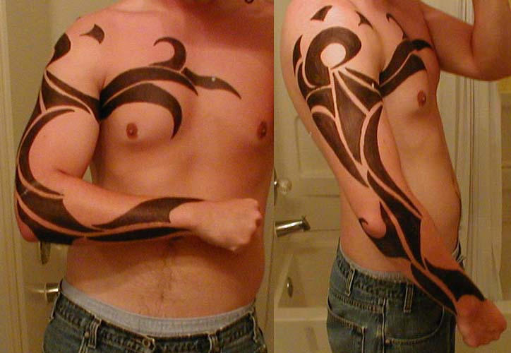 awesome tattoos designs for guys. Tribal Tattoo Design 1 by ~noenflux ...