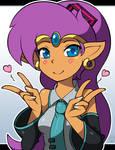 Hatsune Shantae by SuperSegaSonicSS