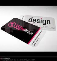 Business Card - 350ml.design by isca