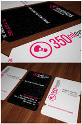 350ml.eventos - Business Card by isca