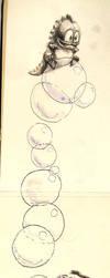 Bubble Bobble by egilpaulsen