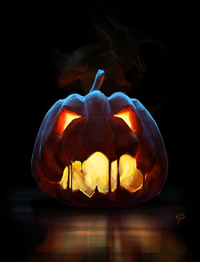 Halloween pumkin sketch by egilpaulsen on deviantart for Awesome pumpkin drawings
