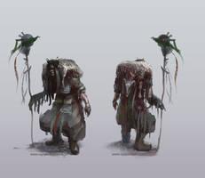 Shaman character 1 by egilpaulsen