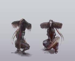 Shaman character 2 by egilpaulsen