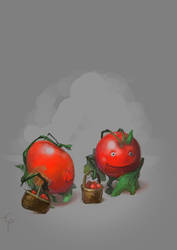 Tomatoes by egilpaulsen