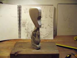 Lamp Sculpture WIP by egilpaulsen