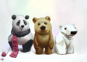 Bear characters