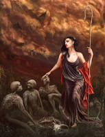 The Shepherd by egilpaulsen