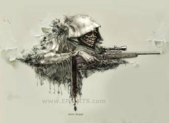 Grim Sniper by egilpaulsen