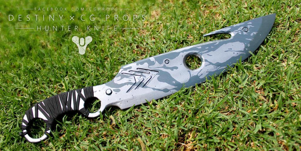 Destiny Hunter Knife Prop by Earcl01